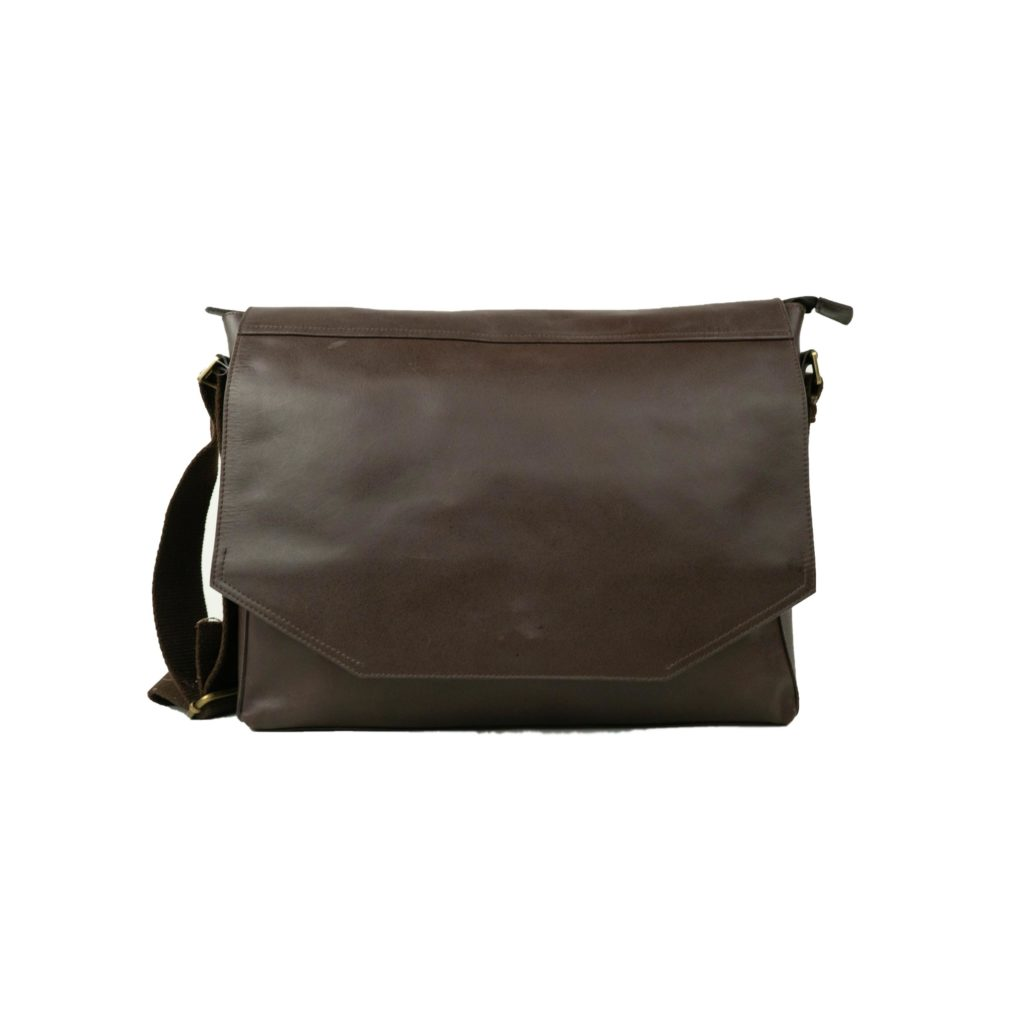 BALSA manufacturing leather briefcase